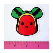 Skateboard Guitar Laptop Phone Vinyl Decal Sticker - Big Watermelon Head Robot