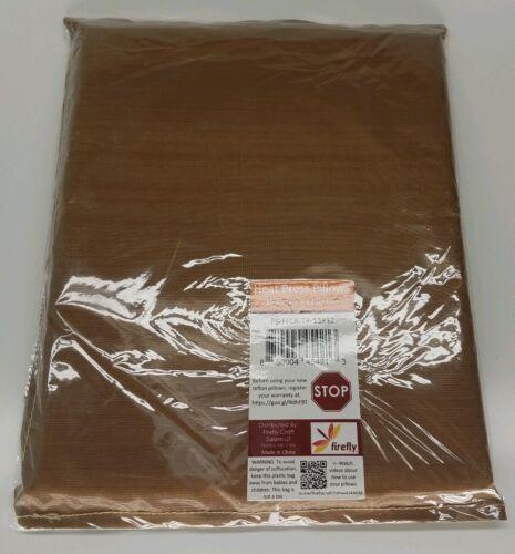 "Firefly Craft Teflon Heat Resistant Press Pressing Pillows 15/"" X 12/"" PS-FFCR-TP"