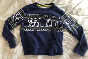 Old Navy Boys Ugly Holiday Christmas Sweater Size S 6 7 Ebay