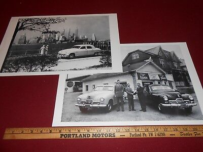 48 POSTER BROCHURE VINTAGE PLANE 11 x 18 PHOTO 1948 CADILLAC FASTBACK w