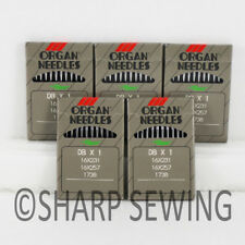 10 Sewing Machine Needles 45x1 Ddx1 214x1 328 328r for Singer 45k Consew Sk-2r