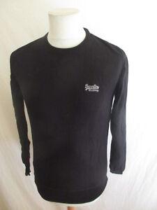 1c7db082922bf Pull Superdry Noir Taille S à - 46%   eBay