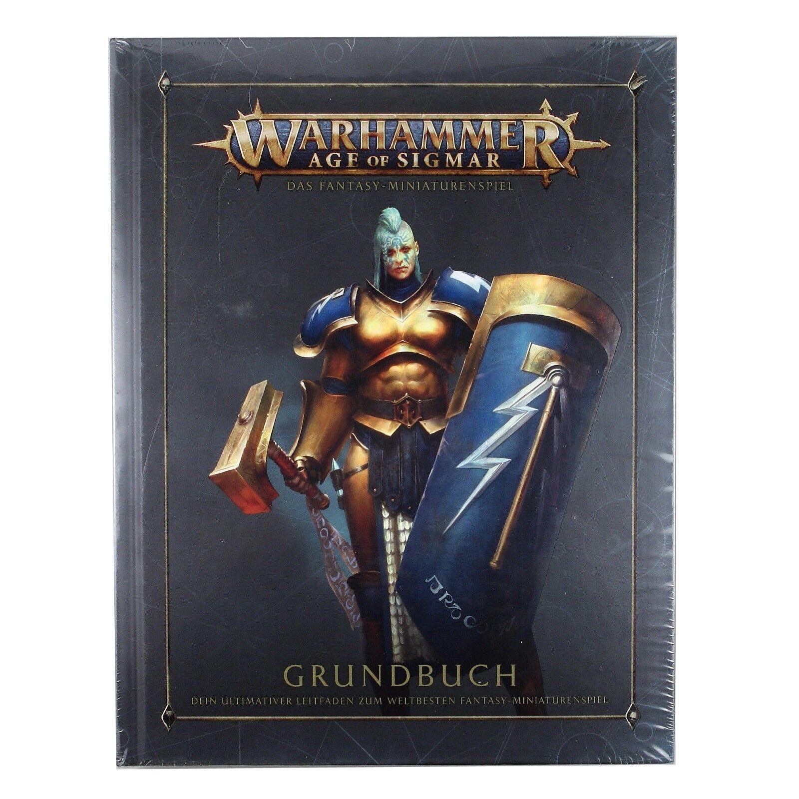 Warhammer Age of Sigmar Grundbusch Rule Book Soul Wars 11260