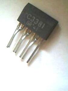 2SC3381GR Toshiba Transistor 7 BROCHES C3381GR-afficher le titre d`origine