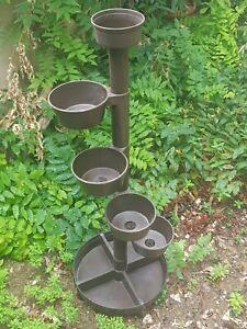 Porte-plantes-porte-pots-en-plastique-marron-design-italien-annees-70
