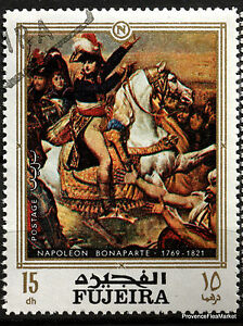 Stamp-New-Napoleon-Bonaparte-Paintings-Fajarah-88M387