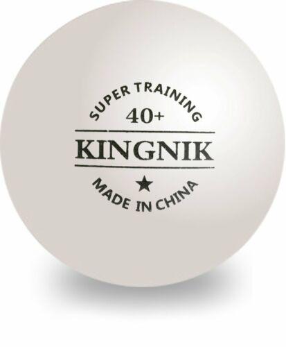 Table Tennis Ping Pong Balls Kingnik 1* Training Poly Ball x 100 UK Stock