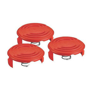 Black-amp-Decker-RC-100-P-Replacement-Spool-Cap-and-Spring-for-AFS-Trimmer-3-Pack