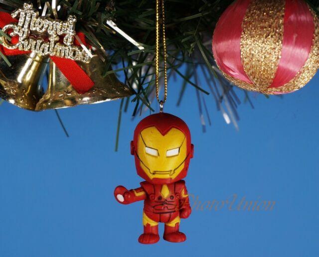 Decoration Xmas Ornament Tree Decor Marvel Superhero Avengers Iron ...