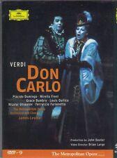 Verdi: Don Carlo - John Dexter - Plácido Domingo , Mirella Freni [2 Discs] DVD-9