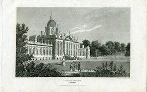 Castle-Howard-IN-Yorkshire-Engraving-By-Robins-Of-A-Drawing-Of-Thompson