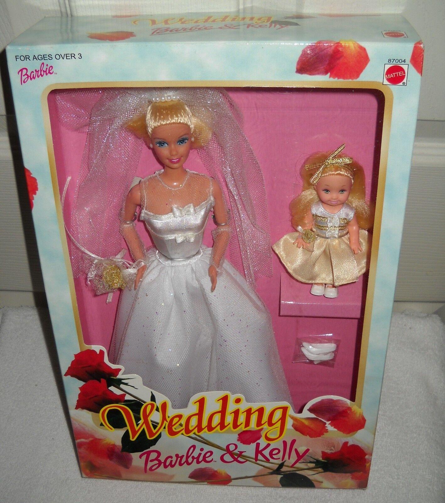Nunca quitado de la Caja Mattel Barbie Y Kelly Conjunto de Boda De Filipinas emisión extranjera