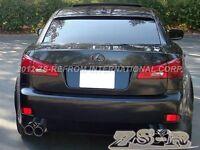 Oe Look Roof Spoiler Lip 06-12 Lexus Is250 Is350 Is F Paint 212 Obsidian Only