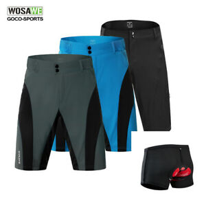 Mens-Baggy-Cycling-Shorts-Loose-fit-MTB-Bike-Pants-Casual-Downhill-Sport-Bicycle