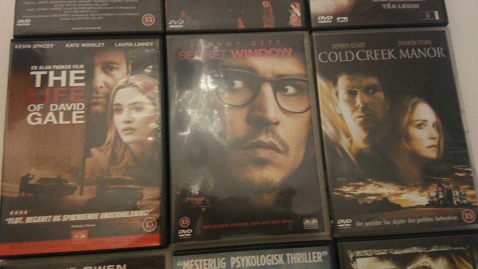 Thrillers, DVD, thriller