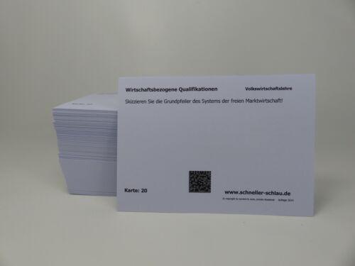 Prüfungsbereich I Lernkarteikarten Prüfungsvorbereitung Technischer Fachwirt