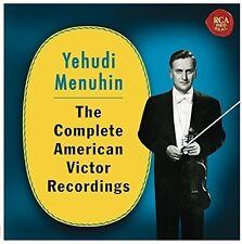 Yehudi Menuhin - Complete American Victor Recordings [New CD]