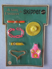 Vintage 1969 Side Lights Skipper Fashions, Pink Purse Chain Belts Hat - Mint