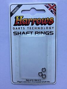 HARROWS SHAFT RINGS  2 SETS OF 3 - Lincoln, United Kingdom - HARROWS SHAFT RINGS  2 SETS OF 3 - Lincoln, United Kingdom