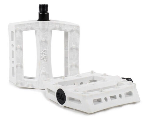 RANT SHRED PEDALS BMX BIKE BICYCLE FIT SE SUBROSA CULT HARO GT KINK SHADOW WHITE
