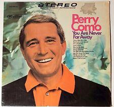Perry Como LP Record 33 rpm RCA Camdem 1968 Vinyl You are never far away