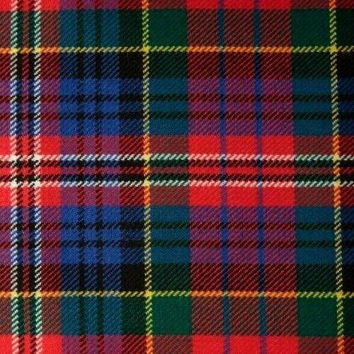 FLY PLAID TARTAN MACPHERSON MODERN FRINGED KILT MADE IN SCOTLAND HIGHLAND MENS