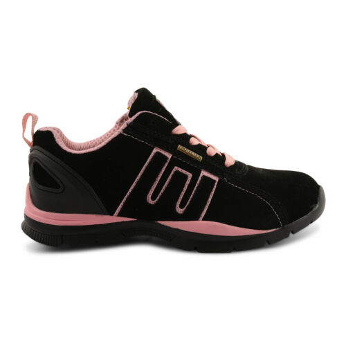 WOMENS LADIES GROUNDWORK LEATHER SUEDE STEEL TOE CAP SAFETY SHOES TRAINERS BOOTS