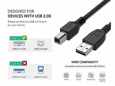 USB PRINTER DATA CABLE LEAD FOR CANON PIXMA MP480//MP499//MP280//MX320//MP272//