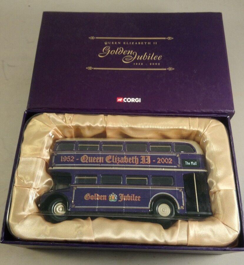 Corgi Classics golden jubilee Routemaster Bus QEII golden Jubilee bus