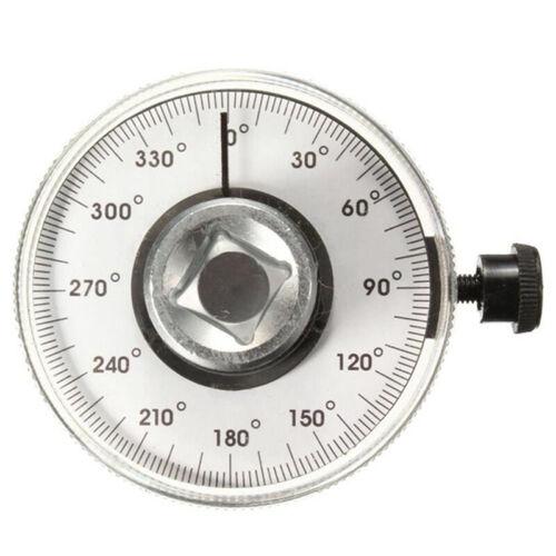 1//2/'/' Adjustable Drive Torque Angle Gauge Auto Garage Tool Set For Hand Wrench#