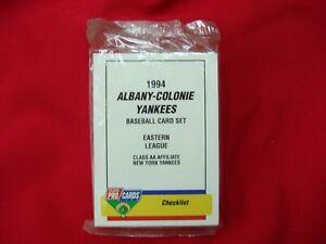1994-ALBANY-COLONIE-YANKEES-A-PETTITTE-MINOR-LEAGUE-TEAM-SET-FLEER-PROCARDS