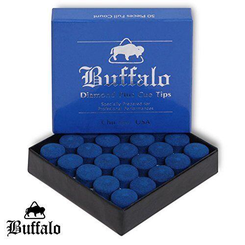 Buffalo Diamond Plus Cue Tips  65533; C 13mm  afscherming 65533;C Box Of 50 Tips