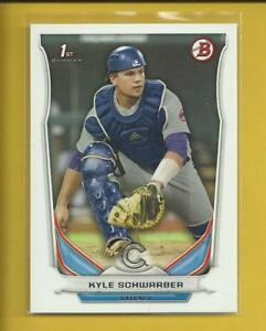 Kyle-Schwarber-RC-2014-1st-Bowman-Draft-Prospects-Rookie-Card-DP2-Chicago-Cubs