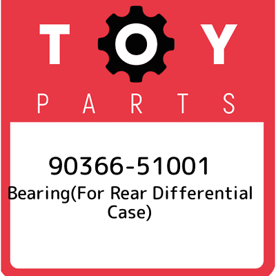 90368-50006 FOR FRONT DIFFERENTIAL CASE 9036850006 Genuine Toyota BEARING