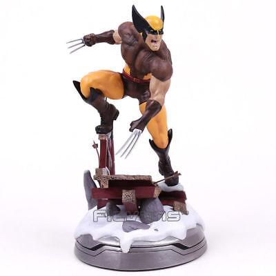 Marvel Super Hero X-Men Logan Wolverine PVC Action Figure Collectible Model Toy