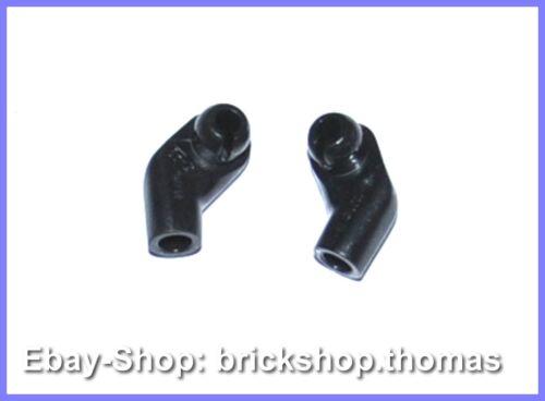 Lego 2 x Arm Figur Arme rechts links schwarz 981982 Arms Black NEW NEU