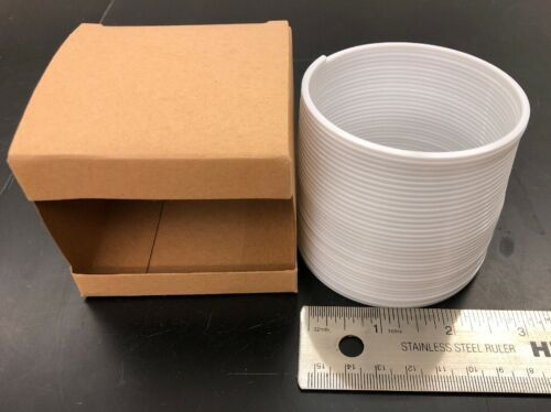 Plastic Slinky Classic Toy White Full Sized