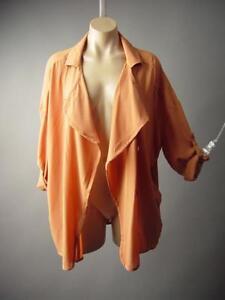 Lightweight-Open-Front-Versatile-Tailored-Robe-Trench-Coat-185-mv-Jacket-S-M-L