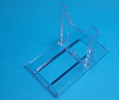 5 Universalständer Acryl zum Verstellen Tellerständer Objekthalter 103x75 mm