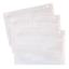 75 X  New A5 PLAIN Document Enclosed Wallets Pouches Envelopes Label 225X165mm
