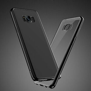 Thin-Slim-Silicone-Clear-Back-Soft-TPU-Case-Cover-For-Samsung-Galaxy-S8-S9-Plus
