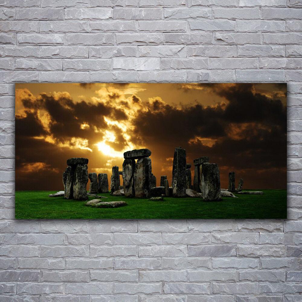 Photo sur toile Tableau Image Impression 120x60 Paysage Pierres