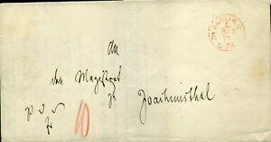 413853) Franco-cachet Rouge. K1 Berlin F. 1877, Garnier 7-14 +50,--afficher Le Titre D'origine