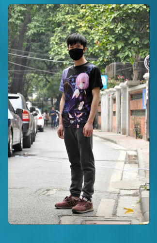 Anime Fate Grand Order Matthew Kyrielite T-shirt Short Sleeve Unisex Cosplay Tee