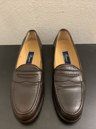Bragano Cole Haan C00917 Brown Soft Penny Loafer L