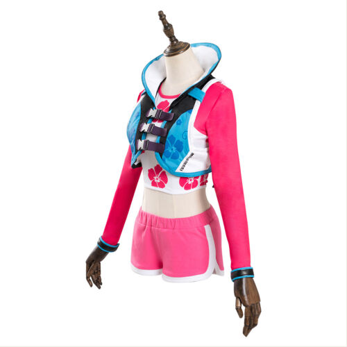OW Overwatch D.Va DVA Hana Song Cosplay Costume Waveracer Skin Outfit