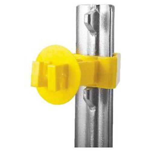 EXTRA LENGTH T POST INSULATOR FOR WIRE,POLYWIRE AND ROPE