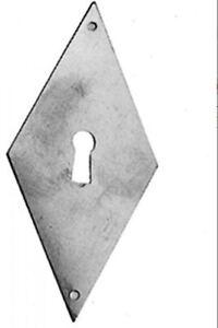 Trou De Serrure Ouverture Meubles Saisir Laiton Brüniert Avec Trou 33x72mm Verticale-afficher Le Titre D'origine