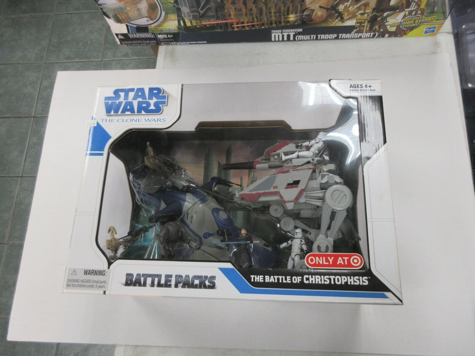 2008 HASBRO STAR WARS CLONE TARGET EXCLUSIVE battle OF CHRISTOPHSIS SET SEALED