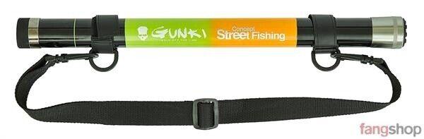 Gunki TELESCOPICO GUADINO bacchetta 3,74m trasporto lunghezza 46cm streetfishing guadino Mohle